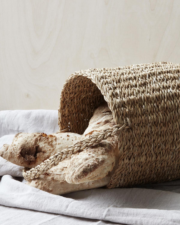 Basket, Use w. handle, Natural